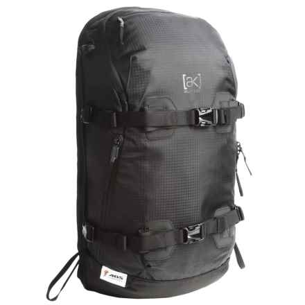 Burton ABS Vario [ak] Backpack Cover - 23L in True Black Bonded Ripstop - Closeouts